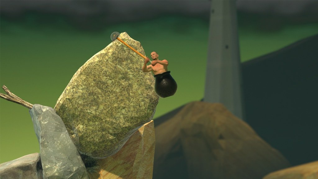 Getting Over It 2 min