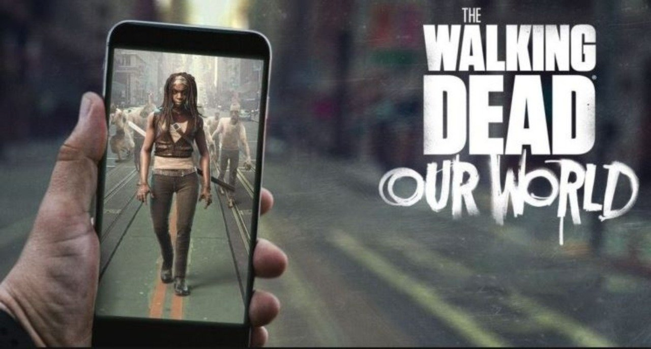 The Walking Dead Our World cover