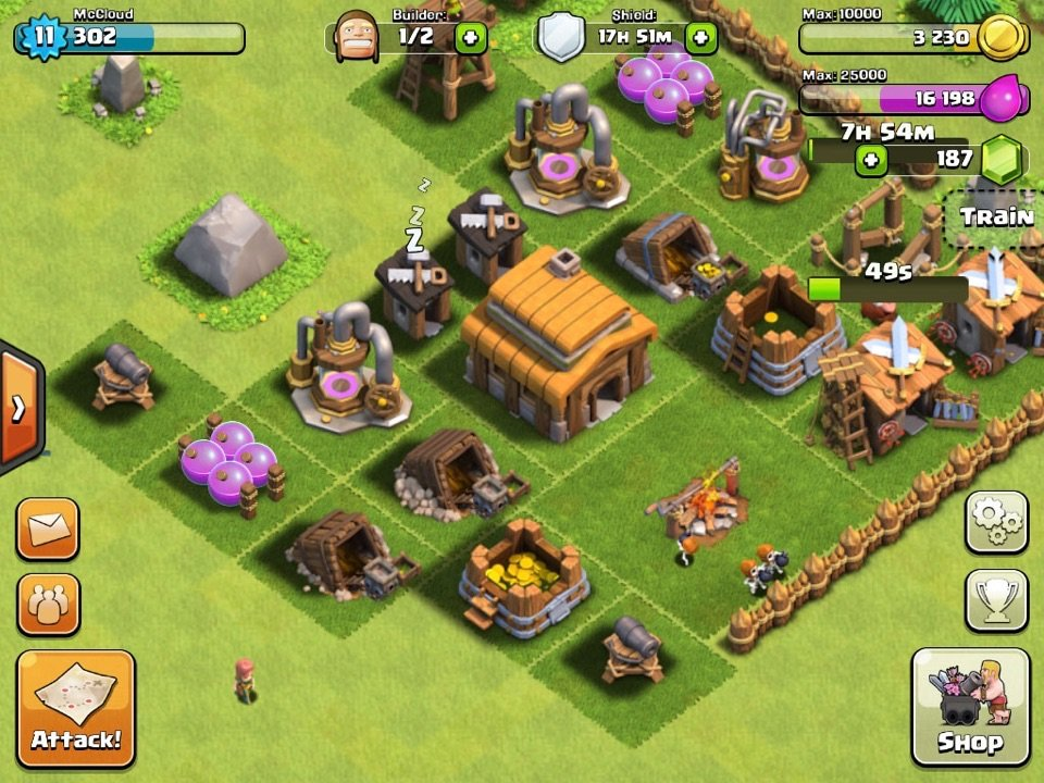clash of the clans build