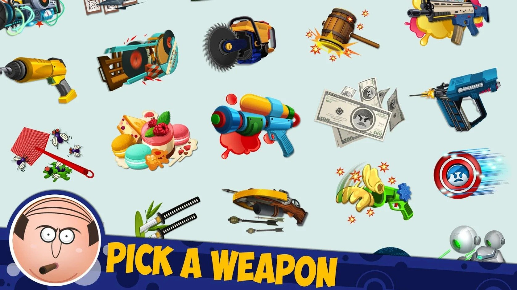 Beat The Boss 4 weapons