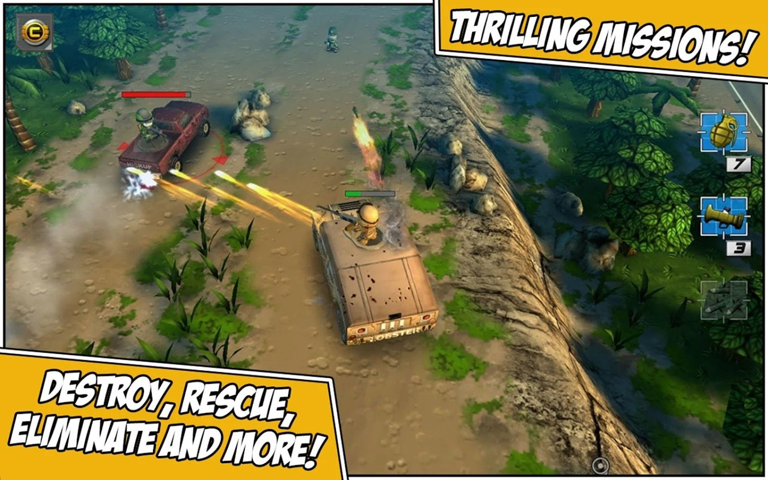 Tiny Troopers 2 Special Ops game play