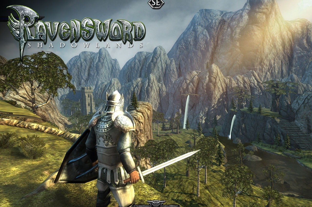 Ravensword Shadowlands cover