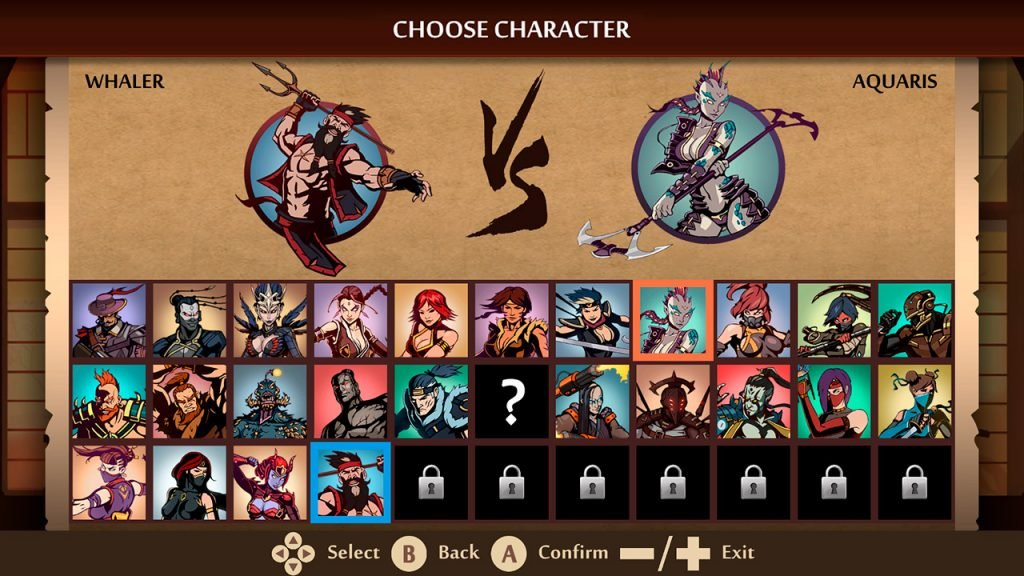 Shadow Fight 2 Characters 1024x576