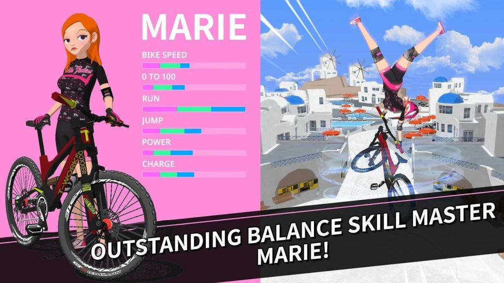 Downhill Masters Marie