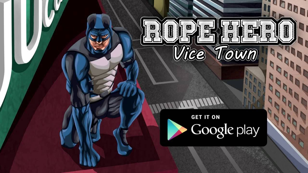 Rope Hero Vice Town Cover