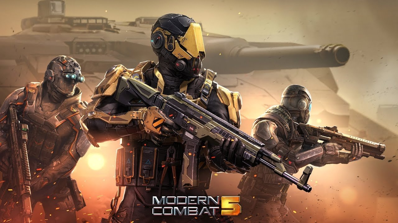 Modern Combat 5 Covers