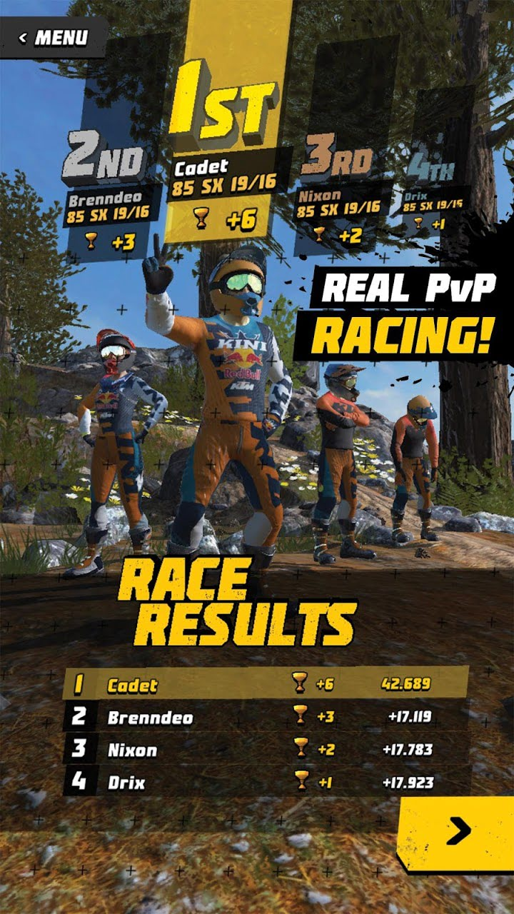 Dirt Bike Unchained for android