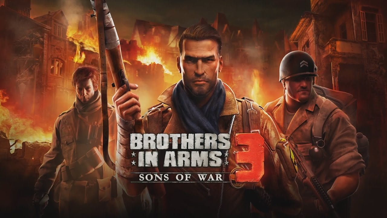Brothers in Arms 3 Cover