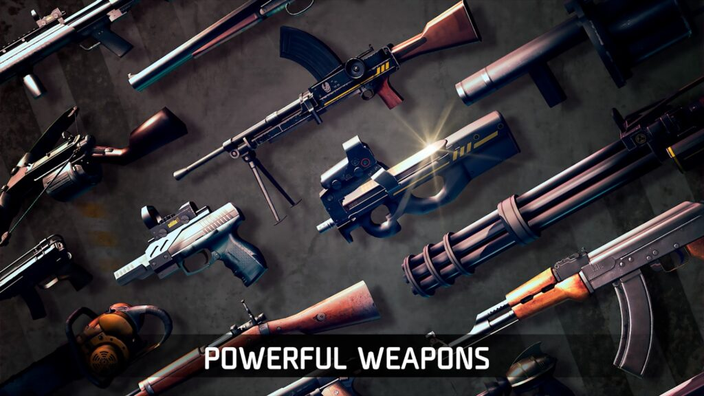 DEAD TRIGGER weapons 1024x576