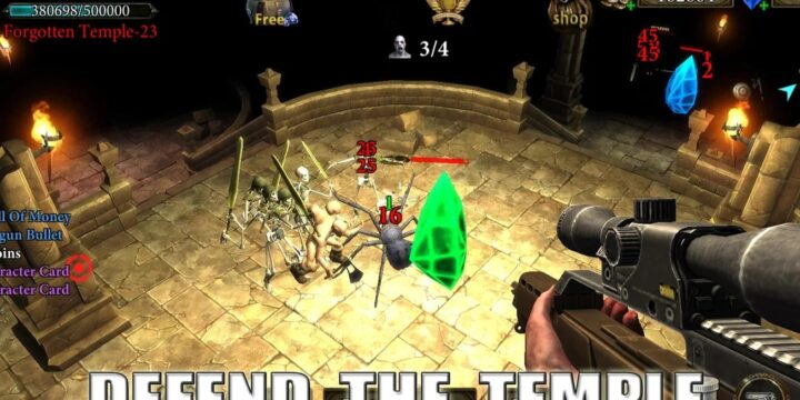 Dungeon Shooter MOD APK cover 720x360