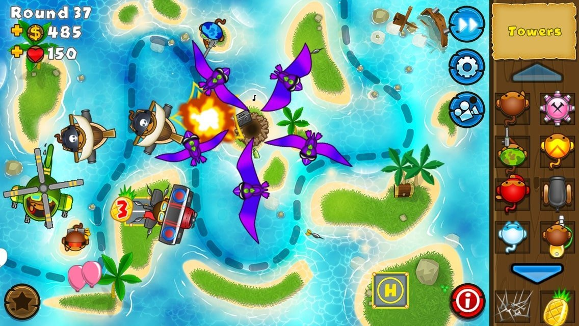 Bloons TD 5 for android