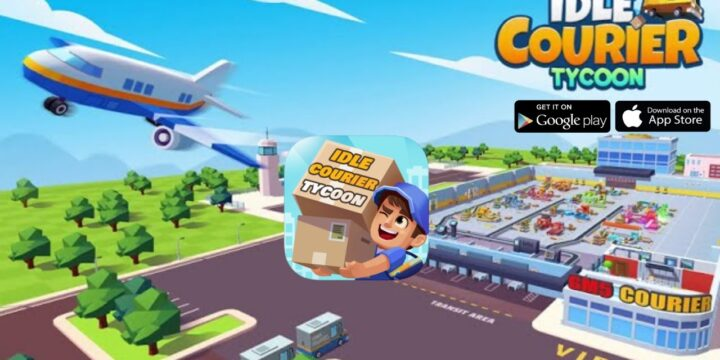 Idle Courier Tycoon Cover 720x360