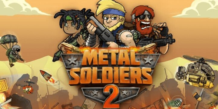 Metal Soldiers 2 MOD APK cover 720x360