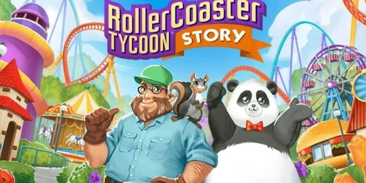 RollerCoaster Tycoon Story MOD APK cover 720x360