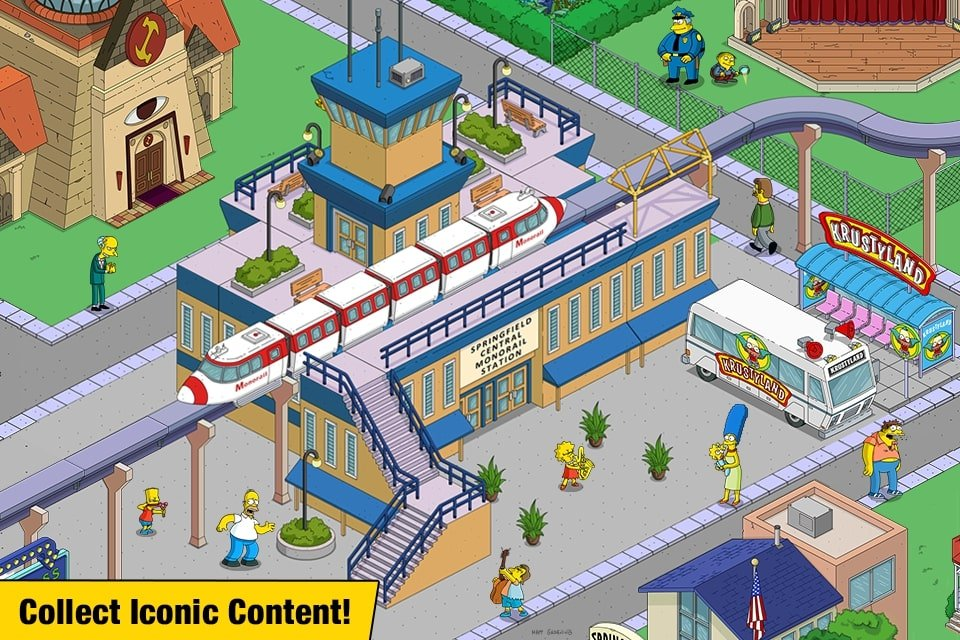 The Simpsons Tapped Out gameplay
