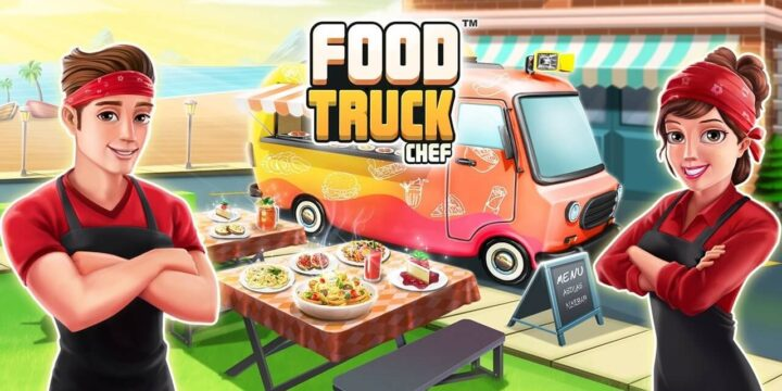 Food Truck Chef MOD APK cover 720x360