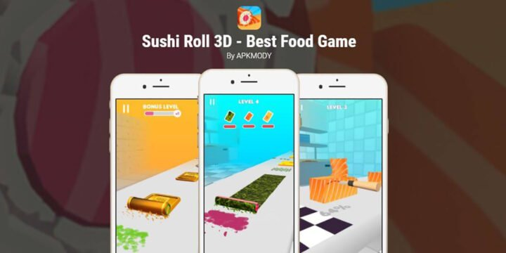 Sushi Roll 3D cover 720x360
