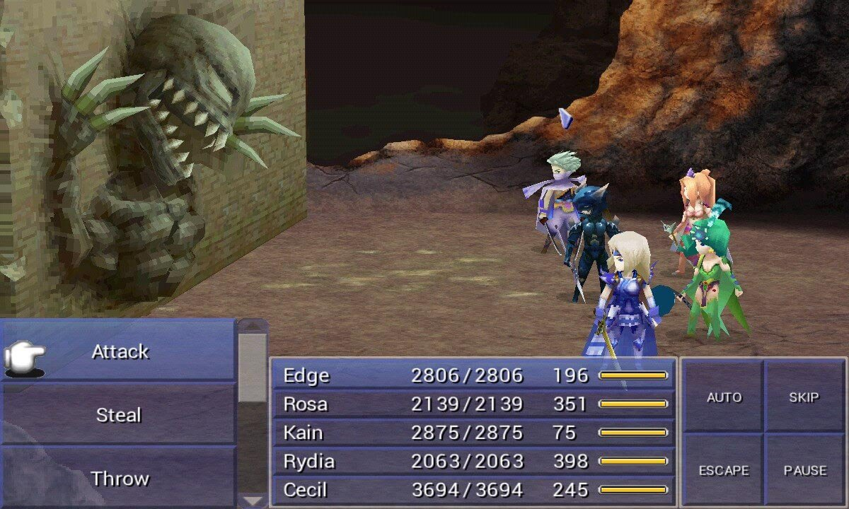 Final Fantasy IV MOD APK for Android