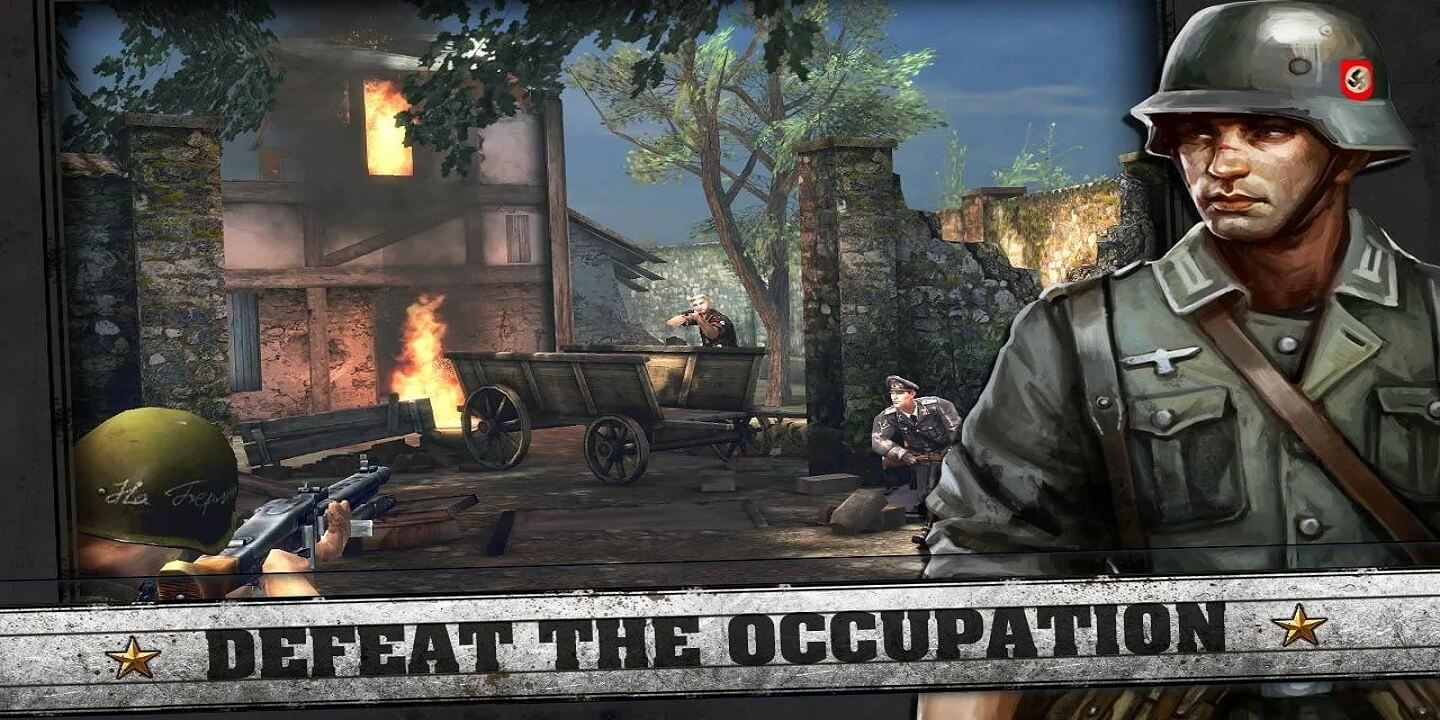 FRONTLINE COMMANDO D DAY for Android