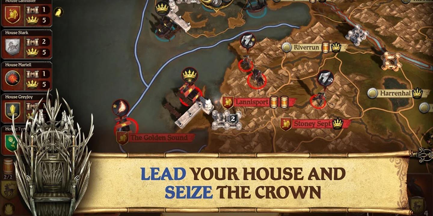 Unduhan A Game of Thrones The Board Game gratis