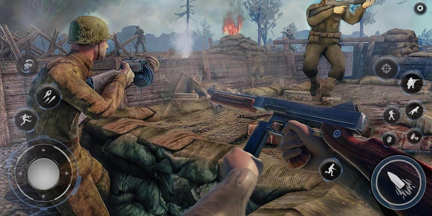 Call Of Courage WW2 for Android