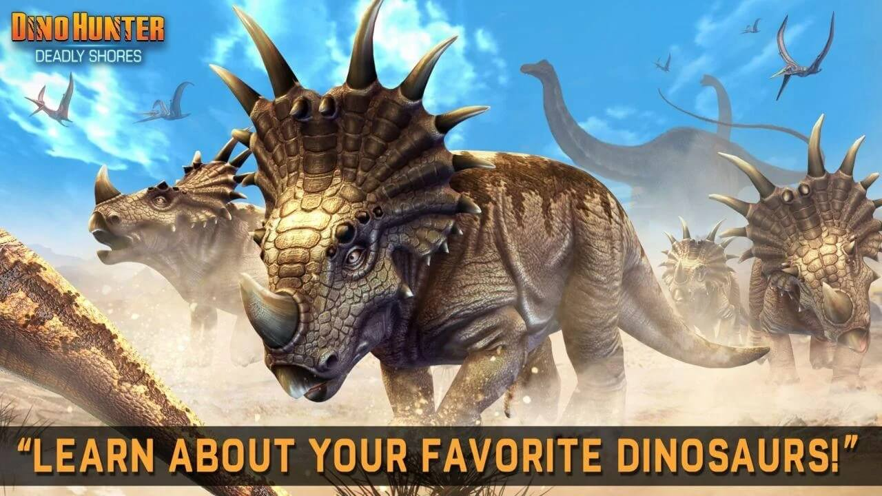DINO HUNTER DEADLY SHORES for Android