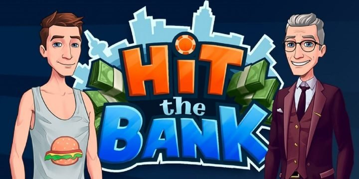 Hit The Bank MOD APK cover 720x360