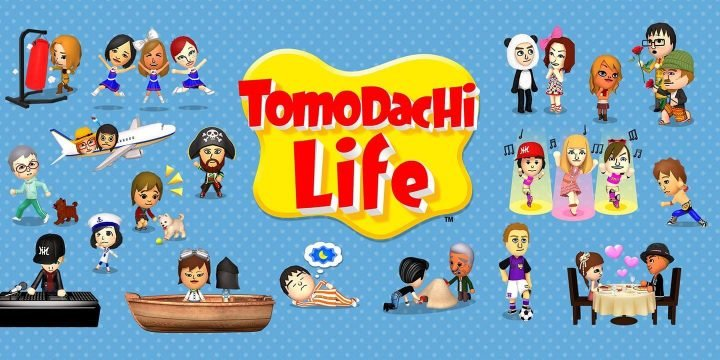 Tomodachi Life 3DS ROM cover
