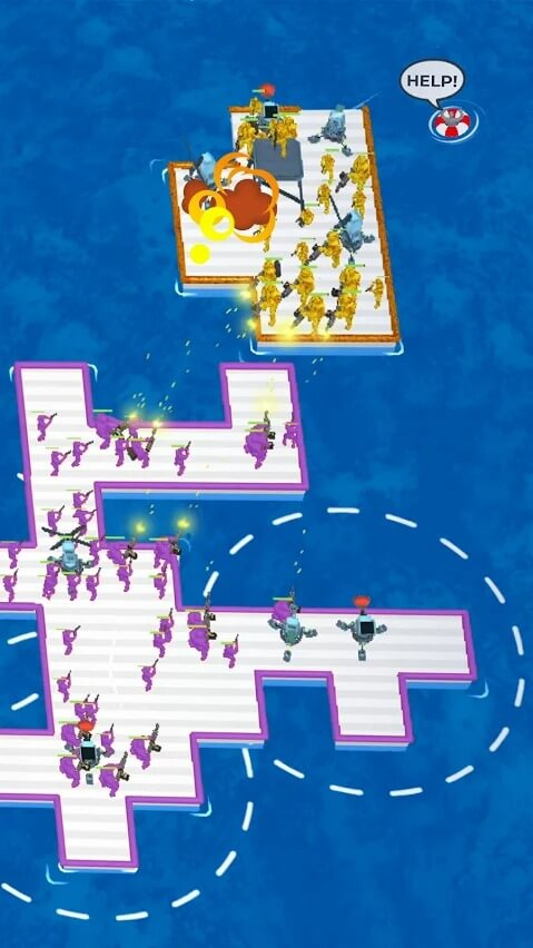 War of Rafts for Android