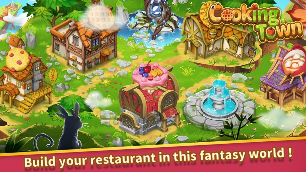 Cooking Town MOD APK download