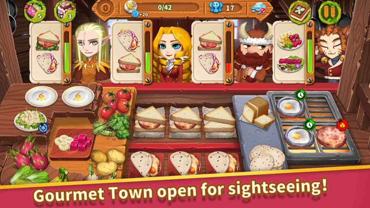 Cooking Town for Android