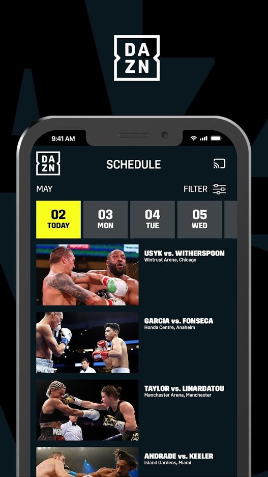 DAZN for Android
