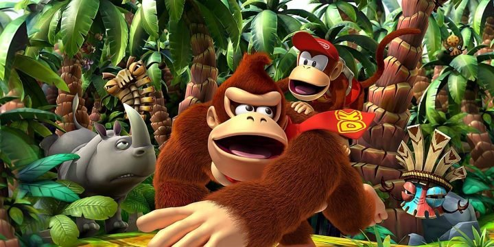 Donkey Kong Country Return 3D 3DS ROM cover