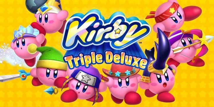 Kirby Triple Deluxe 3DS ROM cover