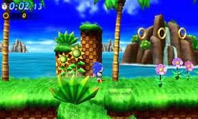 Sonic Generations 3DS ROM
