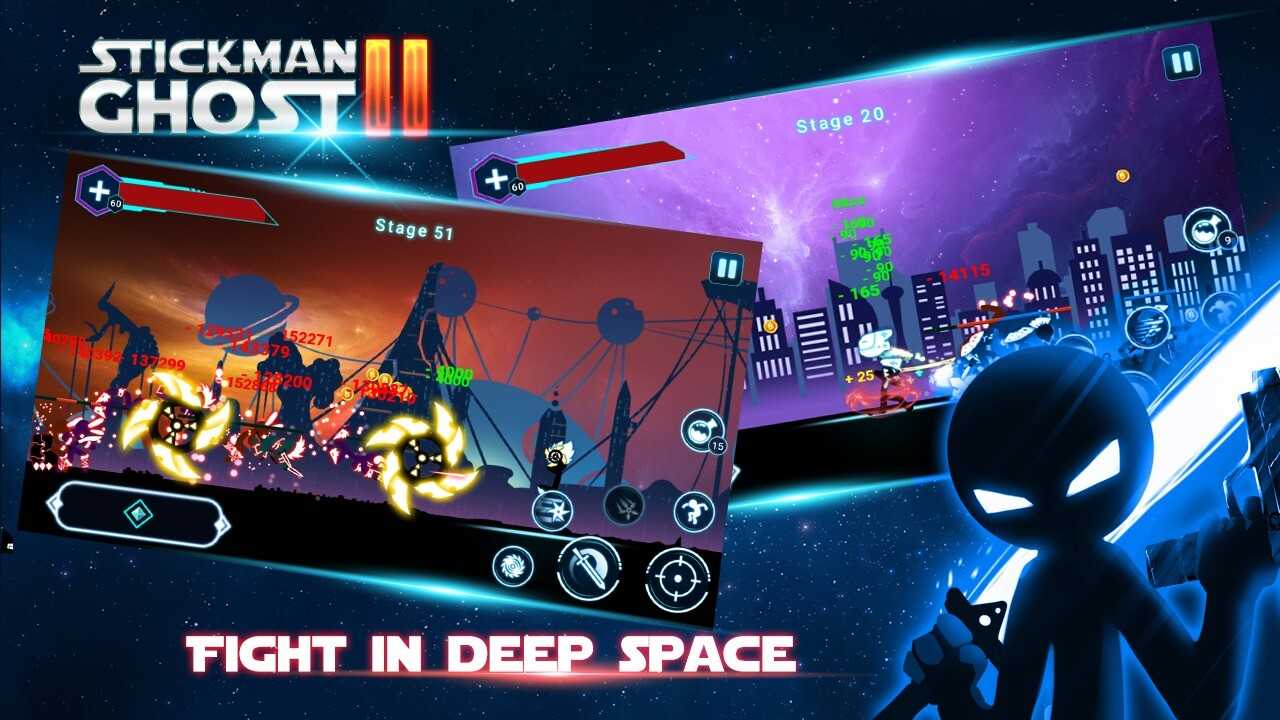 Stickman Ghost 2 for Android