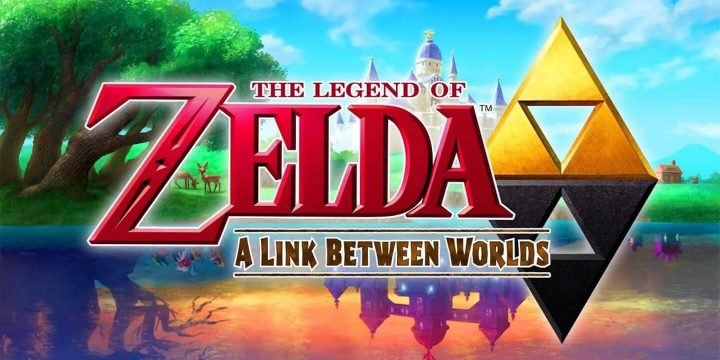 The Legend of Zelda A Link Between Worlds 3DS ROM cover