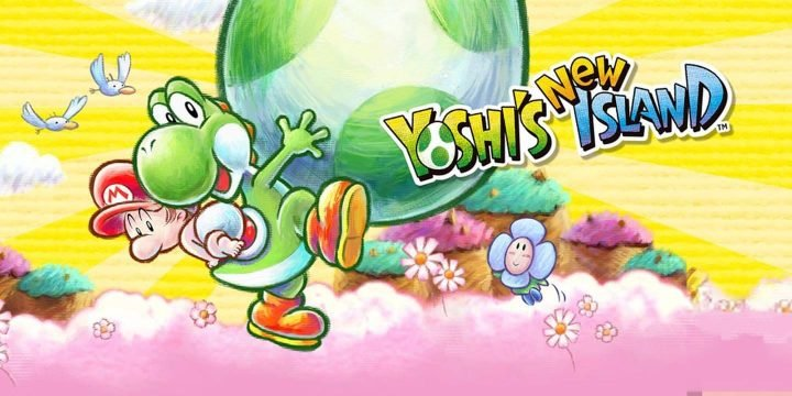 Yoshi New Island 3DS cover 720x360