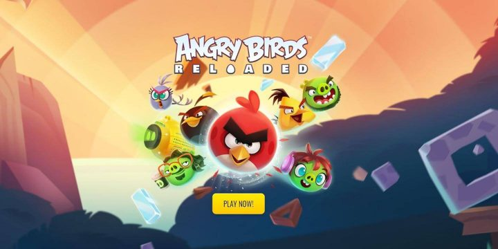Angry Birds Reloaded APK cover