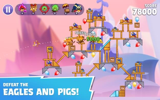 Angry Birds Reloaded screenshot