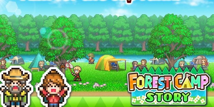Forest Camp Story MOD APK cover