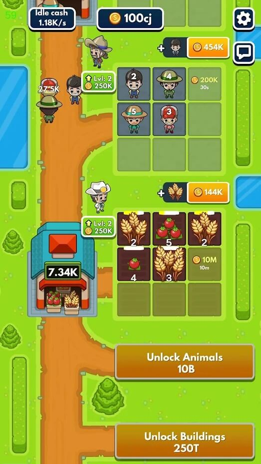 Idle Farm Tycoon for Android