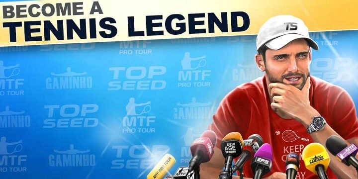 TOP SEED Tennis MOD APK cover