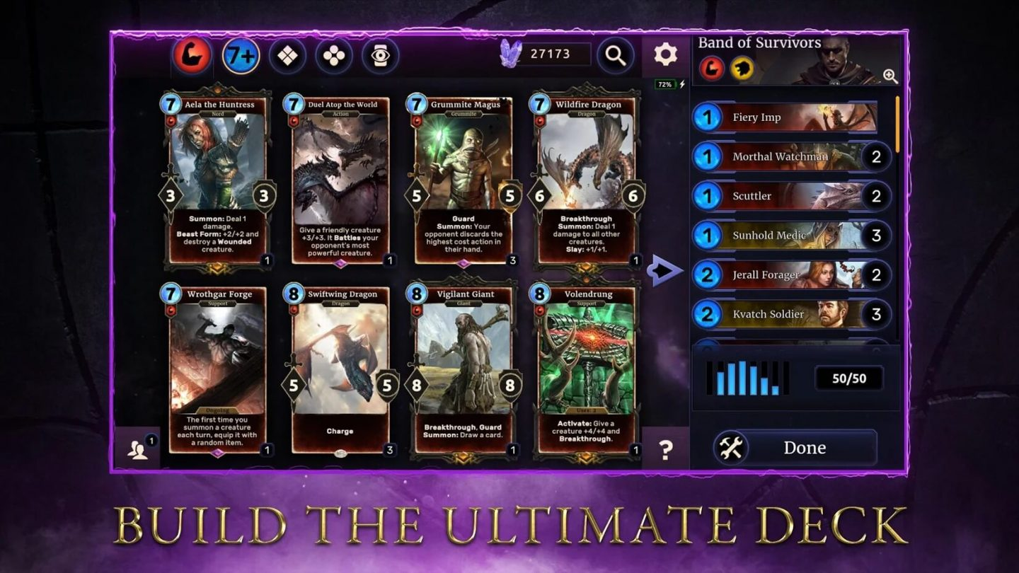 The Elder Scrolls Legends for Android 1440x810