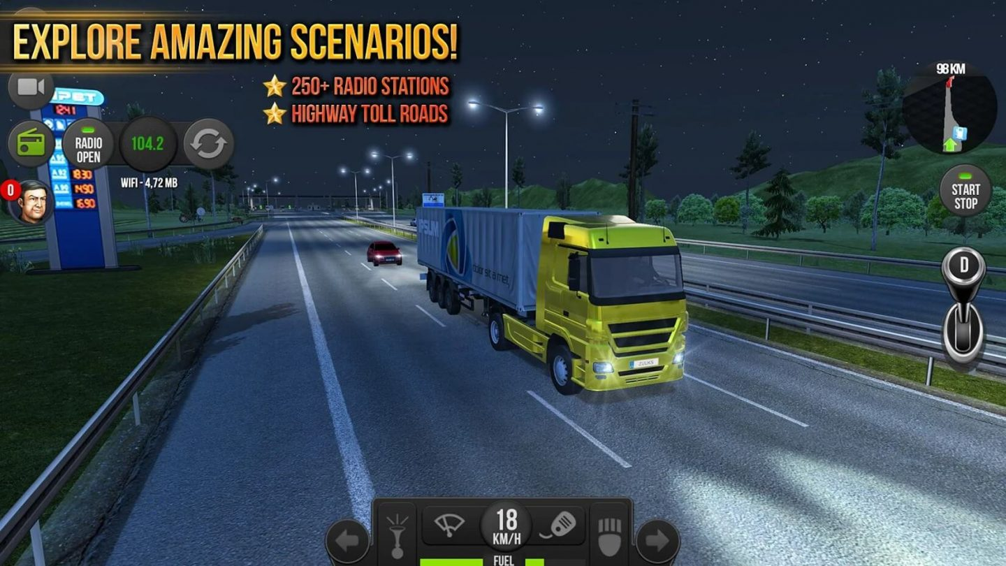 Truck Simulator 2018 Europe for Android 1440x810