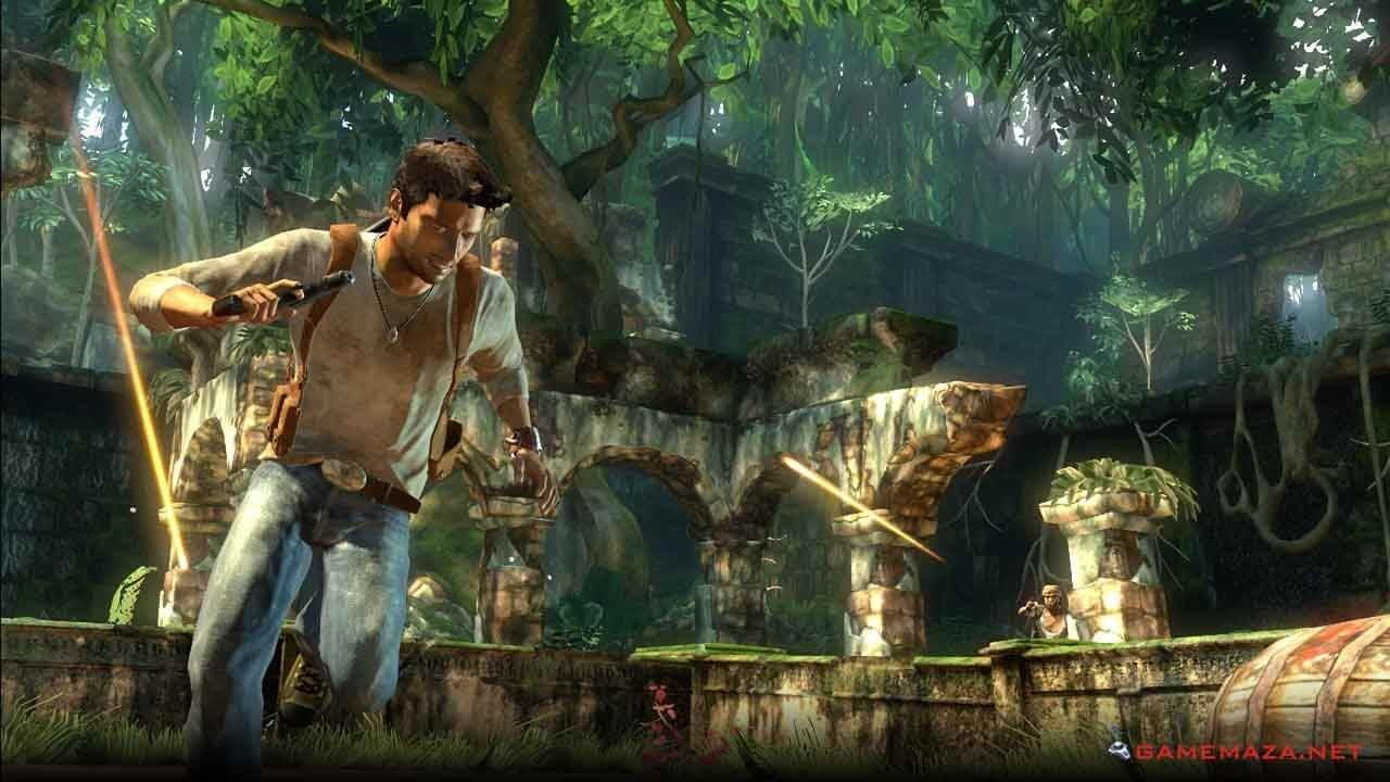 Uncharted Drakes Fortune screenshot