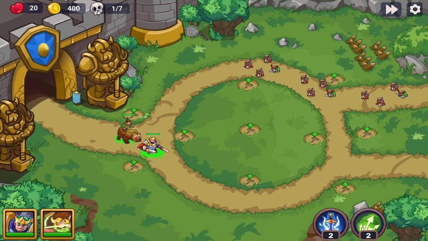 King of Defense 2 Epic Tower Defense MOD by APKMODY