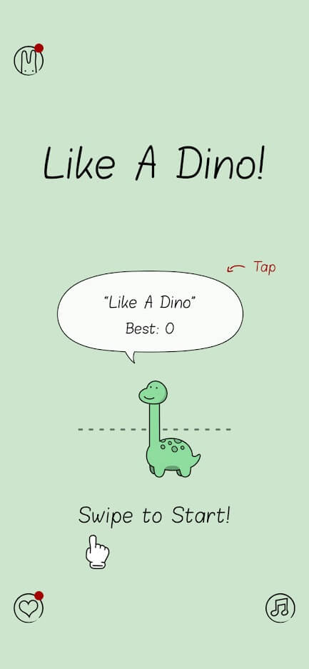Like A Dino for Android