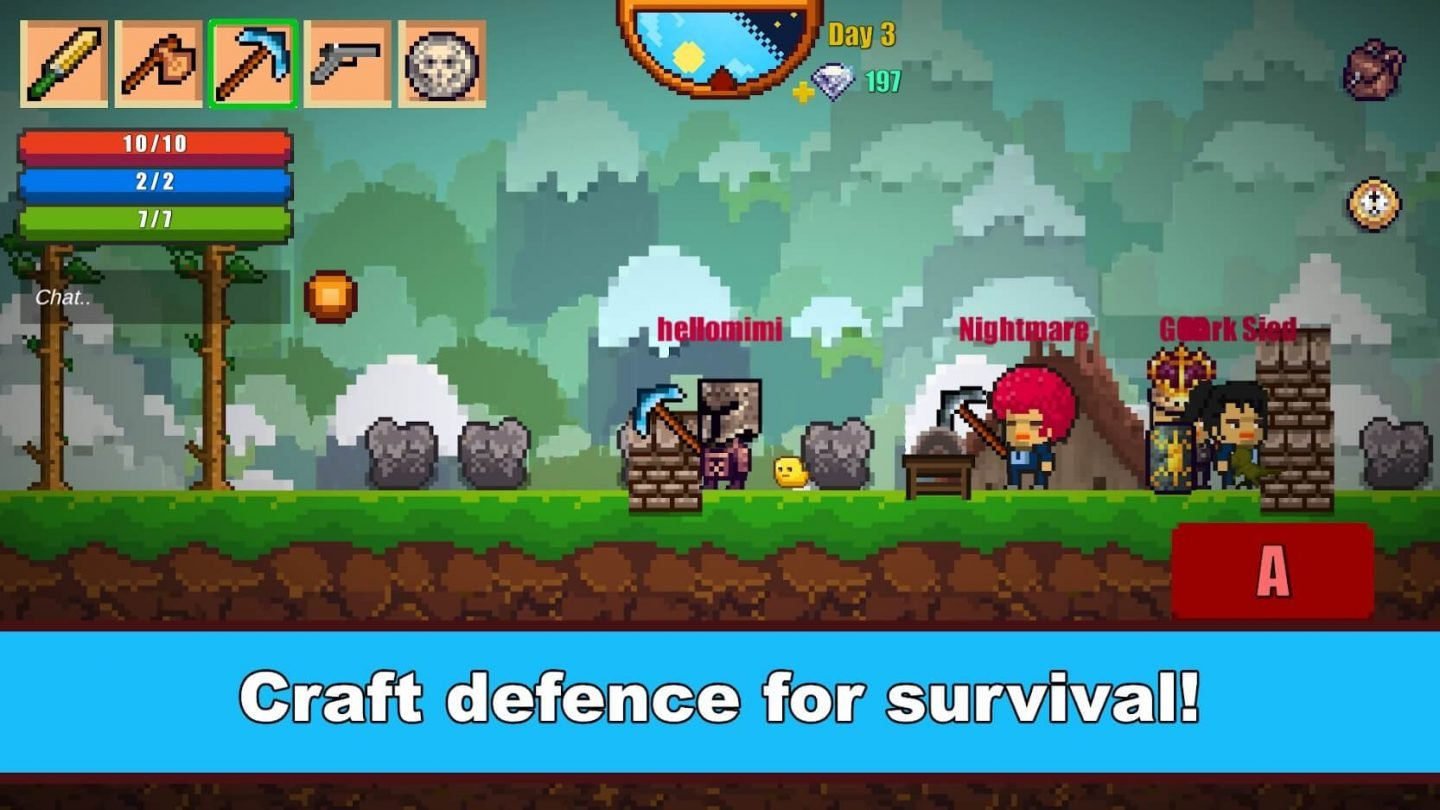 Pixel Survival Game 2 for Android 1440x810