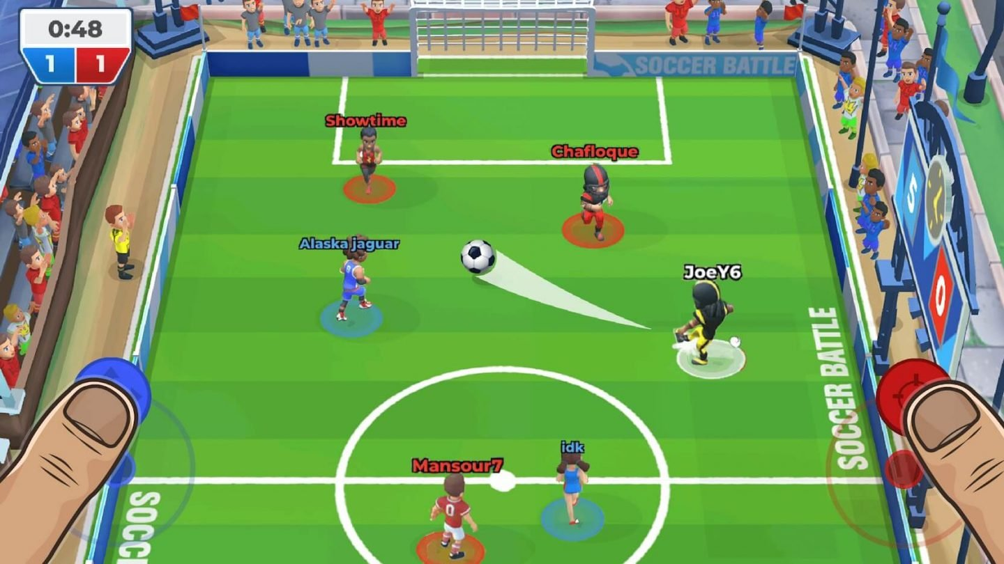 Soccer Battle for Android 1440x810